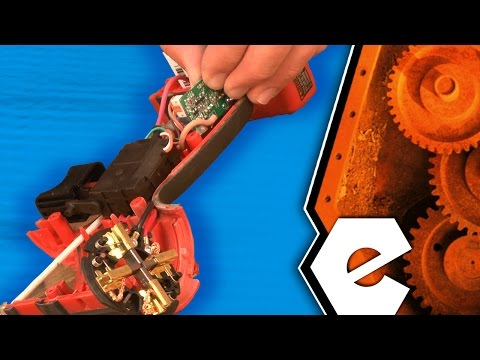 How To Replace The Switch And Brush Card Assembly On A Milwaukee Cordless Impact Driver