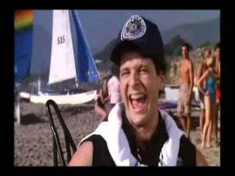 Police Academy 2 - beach scene