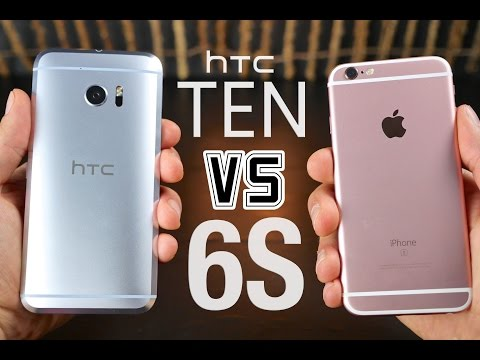 HTC 10 vs iPhone 6S Ultimate Comparison!
