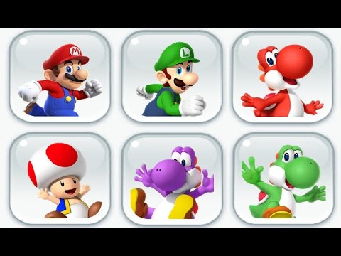 Super Mario Run - Toad Rally: All Characters (Loads of Coins Event)