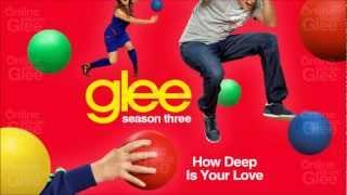 Video How Deep Is Your Love - Glee [HD Full Studio] download MP3, 3GP, MP4, WEBM, AVI, FLV November 2018