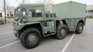 1972 M561 1 1/4 Ton 6x6 Gama Goat Amphibious Cargo Truck on GovLiquidation.com