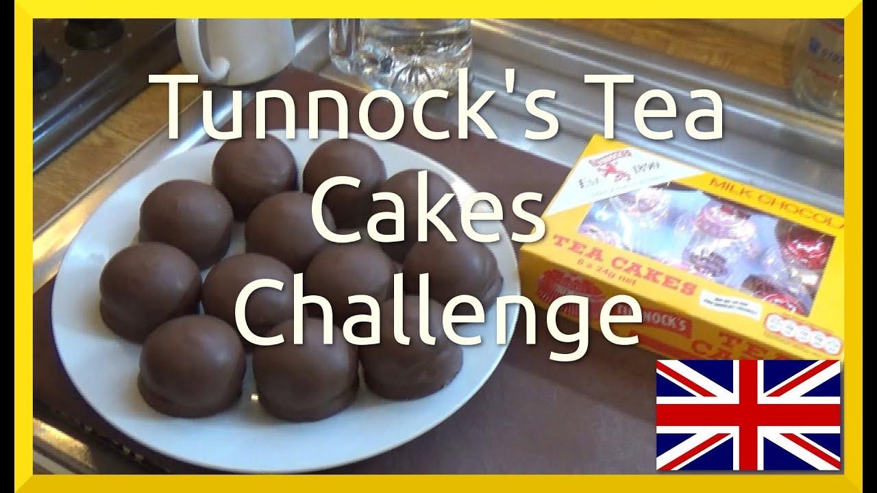 Tunnocks Teacake Challenge Youtube