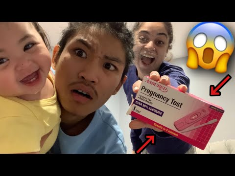 TAKING A PREGNANCY TEST ON CAMERA!!! *SHOCKING*
