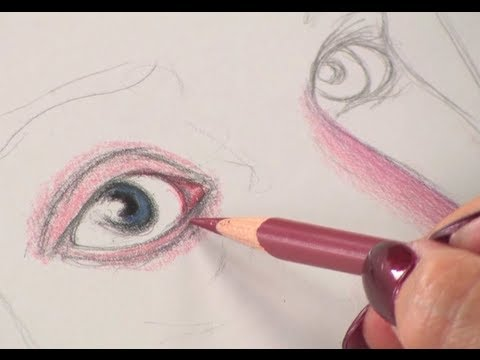 Preview art lessons with lee hammond draw faces in colored pencil