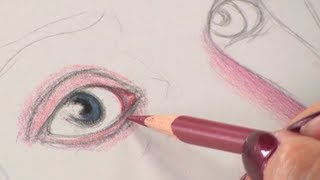 Art Lessons with Lee Hammond: Drawing Faces in Colored Pencil (Preview)