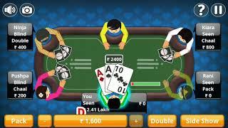 Teen Patti Offline Indian Poker screenshot 1