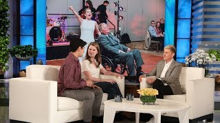 Ellen Welcomes Viral Bride Who Danced with Terminally Ill Father MP3