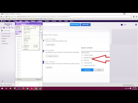How To Take Backup Of Yahoo Messenger Friend List With Email ID