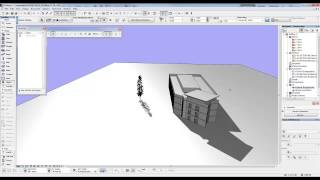 Archicad Mini Tutorial 20 Control the Sun
