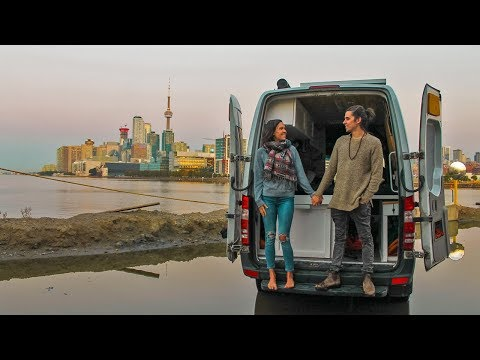 Van Life in the City | Eamon & Bec