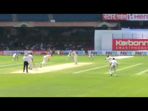 India vs Aus at Chinnaswamy Stadium Bangalore