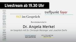StZ im Gespräch / treffpunkt foyer - Dr. Angela Merkel
