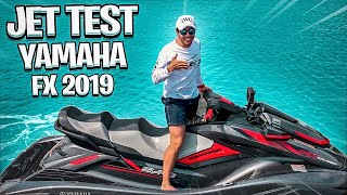 Yamaha FX Cruiser SVHO 2019 - JET TEST