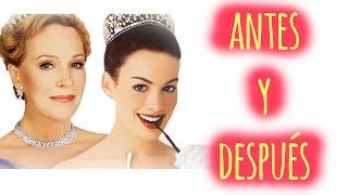 """Actores de """"El diario de la princesa"""" antes y después (The Princess Diaries)"""