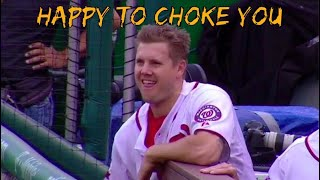 Jonathan Papelbon getting Pissed Off