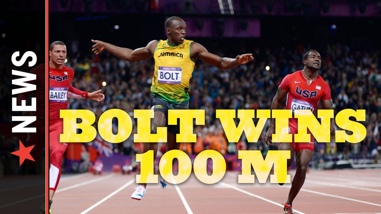 Usain Bolt Wins Gold in 100m - Track and Field Weekend ...