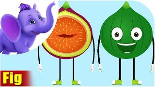 Anjeer - Fig Fruit Rhyme in Hindi
