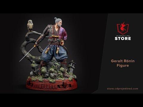 CDPR Merchandise Store | Geralt R�nin Figure