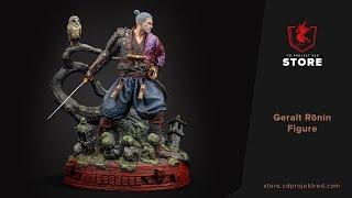 CDPR Merchandise Store | Geralt Rōnin Figure
