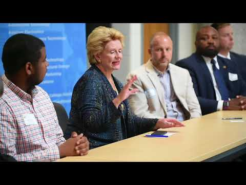 Debbie Stabenow talks about worker shortages in Michigan