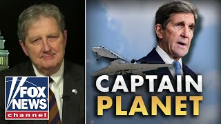 Sen Kennedy rebukes Kerry's private jet use: He has to 'walk the walk'
