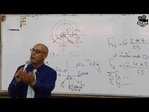 Lecture 3 - Newton's Law Of Gravity ( Part 2 )