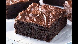 Brownies Kedut I Crackle Top Brownies