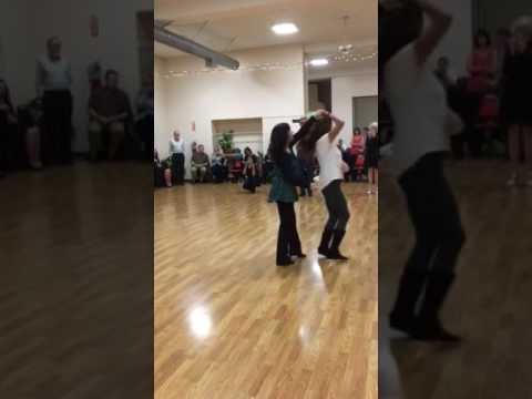 South Bay Dance Club  Debbie D'Aquino  West Coast Coast Swing Leason  1202018