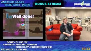 AGDQ 2013 Bonus Stream - Game 28 - Fluidity