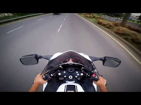 Short City Ride With Suzuki Hayabusa 2017