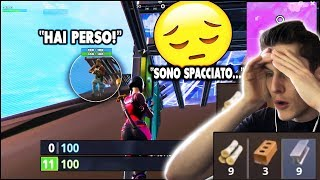 "👉11 HP ED A DREAM... THE ROYAL VICTORY! FORTNITE ITA END GAME no challenge ""I don't believe it"""