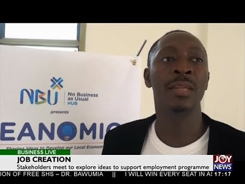 Job Creation - Business Live on JoyNews (18-12-17)
