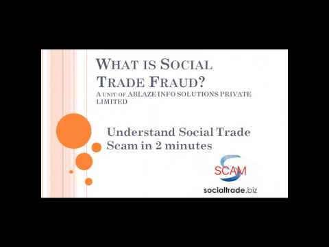 Biggest Scam by Mittal using Ponzi- Social Trade Scam