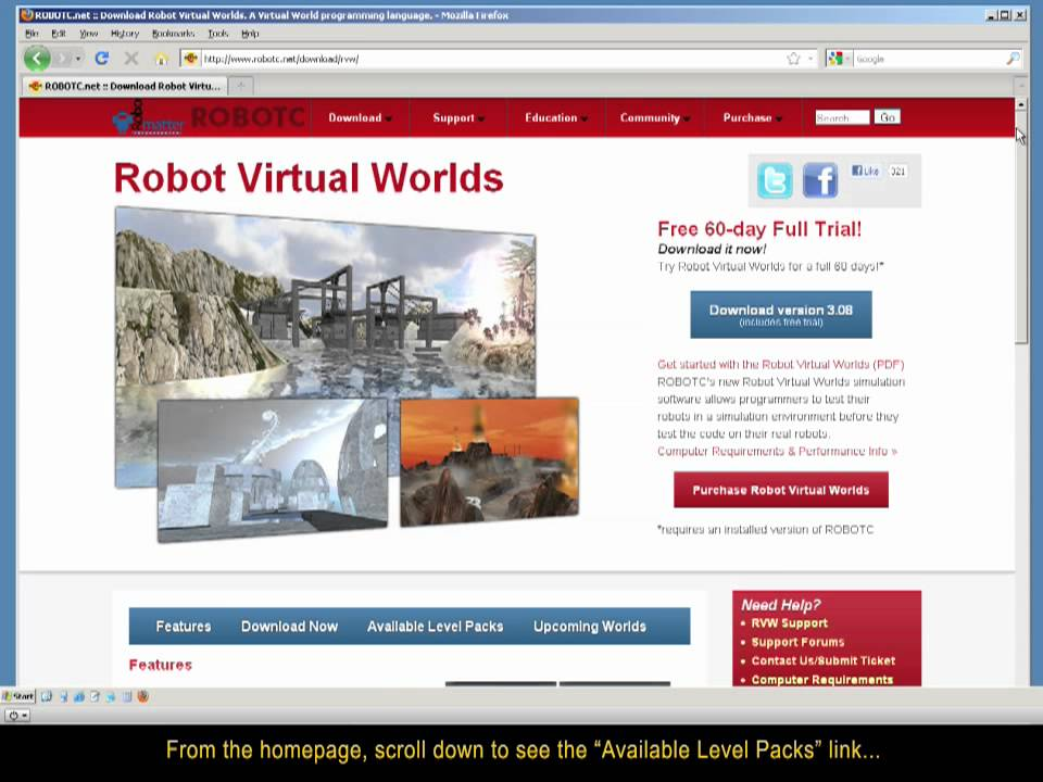 Rvw Step 5 Installing Additional Virtual Worlds Youtube