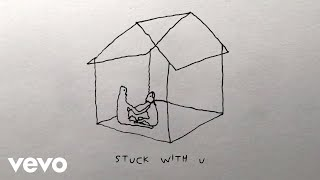 Gambar cover Ariana Grande, Justin Bieber - Stuck with U (Lyric Video)
