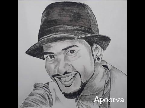 Pencil sketch   Potrait   rob   mad   pogo  artist   Apoorva Yogish