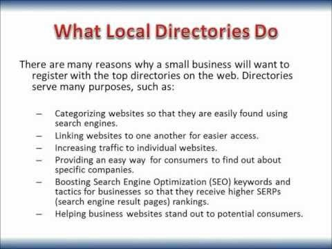 Setting up the Top Business Internet Directories