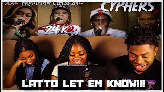 Fivio Foreign, Calboy, 24kGoldn and Mulatto's 2020 XXL Freshman Cypher | REACTION