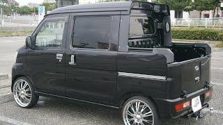 ハイゼットカーゴ デッキバン 18インチホイール&V8サウンド! keitruck custom. Japanese mini truck