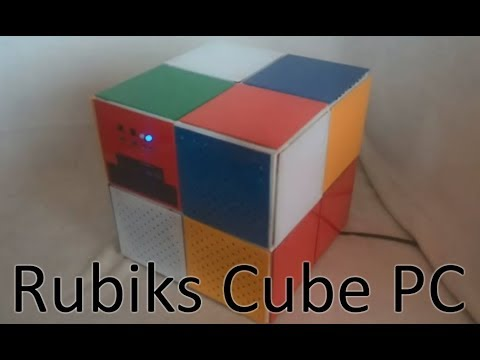 DIY pc case - The Rubiks cube project