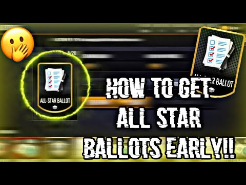 HOW TO GET ALL STAR BALLOTS EARLY FOR *FREE* IN NBALM 20!!