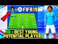 FIFA 19: BEST YOUNG POTENTIAL PLAYERS! CAREER MODE TUTORIAL