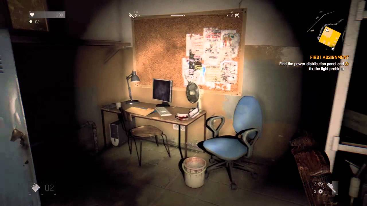 Dying Light Find The Distribution Panel And Fix Problem Explode A Gas Cannister