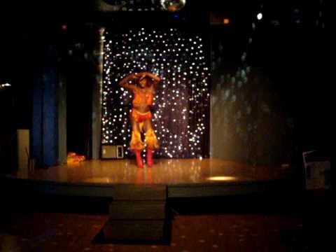Misty Knight, Miss Aquarius 2009 - FIRE ROUTINE