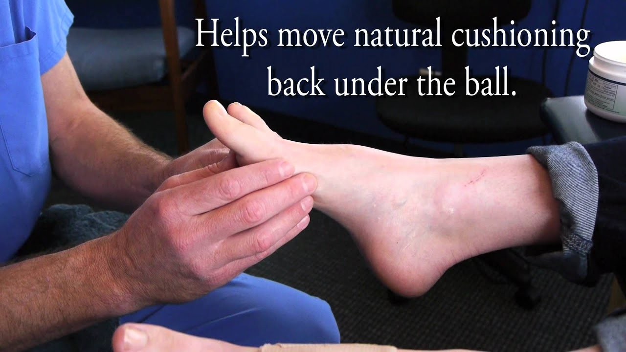 Toe Extensor Stretch with Dr Ray McClanahan - YouTube