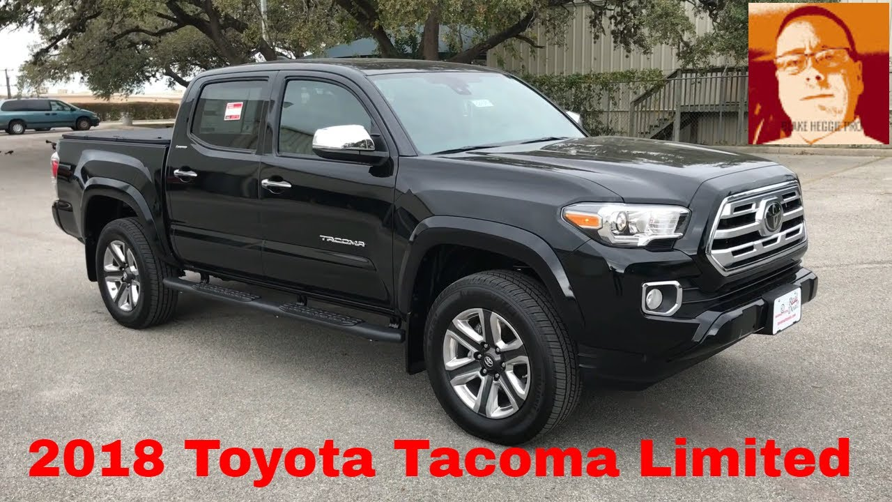 2018 toyota tacoma double cab limited walk around video. Black Bedroom Furniture Sets. Home Design Ideas