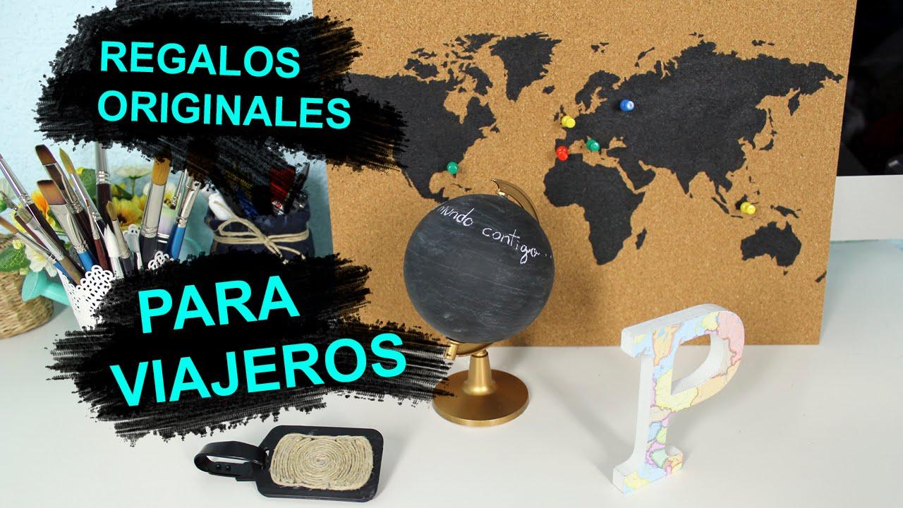 Diy regalos originales para viajeros youtube - Ideas para un regalo original ...