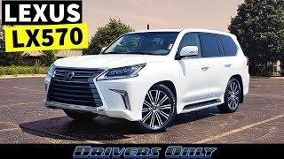 2019 Lexus LX 570 - Biggest and Most Expensive Lexus SUV