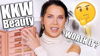 Download KKW BEAUTY ULTRALIGHT BEAM HIGHLIGHTERS & GLOSSES REVIEW   Worth it? Mp3 and Videos